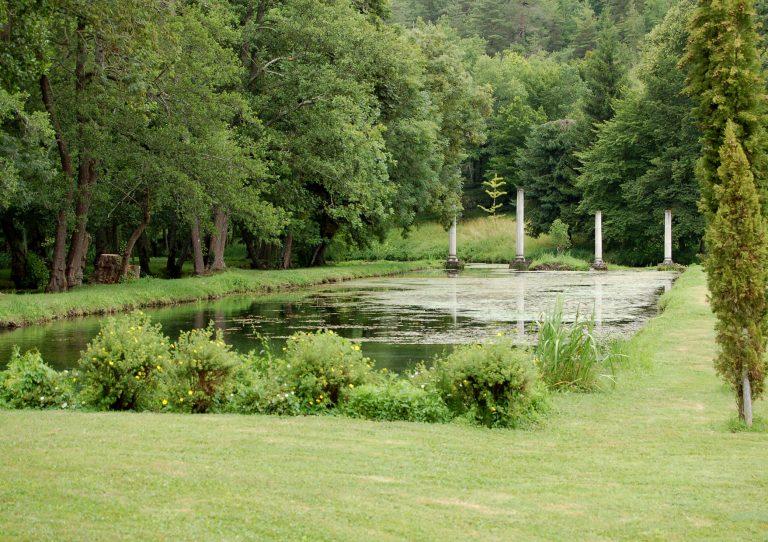 Jardins contemporains : Les jardins du logis de Forge ...